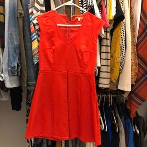 Gianni bini red dress
